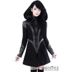 Restyle Future Goth coat witchy gothic edgy coat